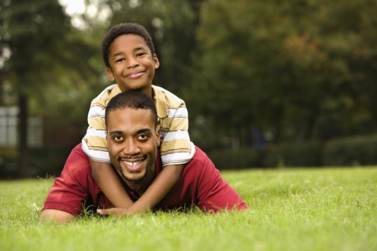 Access | Custody and visitation |son playing happily with his father